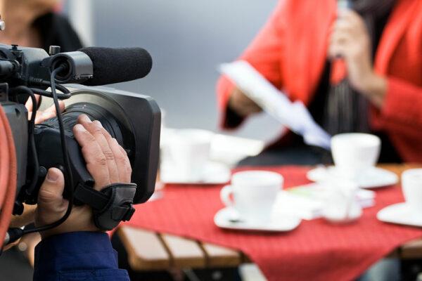 Fernsehproduktion Wiesbaden - Kameramann