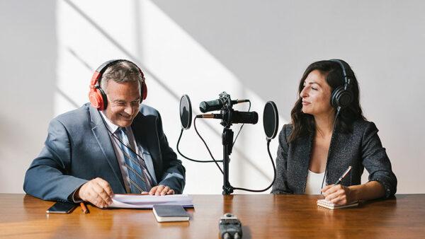 Podcast Produktion für Unternehmen