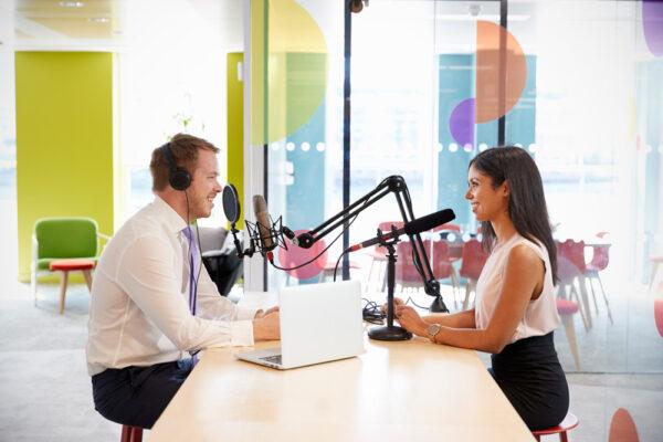 Podcast-Produktion für Unternehmen, Verlage und Verbände